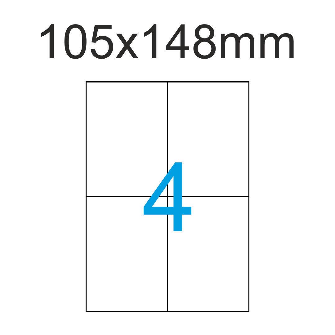 200 x DIN A5 oder 400 x DIN A6 100 Bogen Klebeetiketten Etiketten Etikett weiß