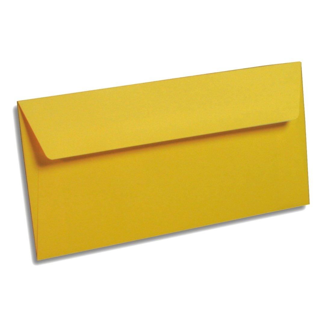 din lang briefumschl ge dl sonne in gelb pollen by. Black Bedroom Furniture Sets. Home Design Ideas