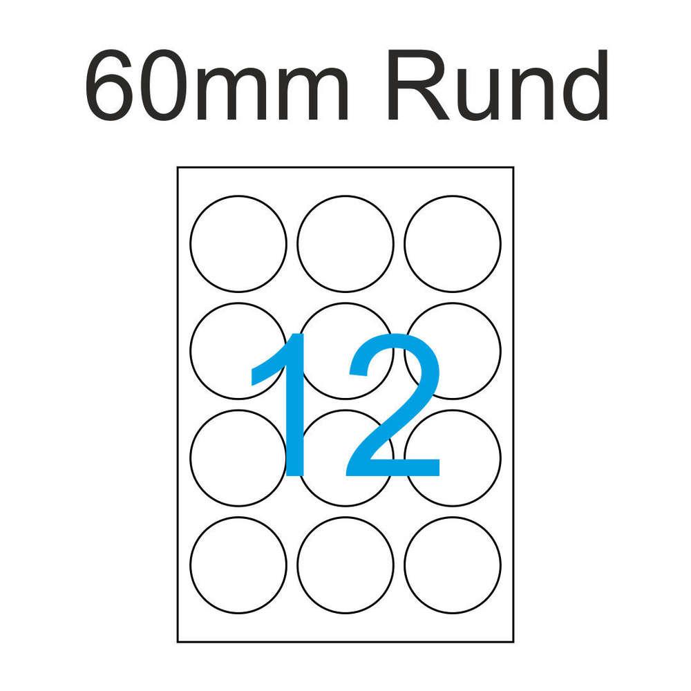 ETIKETTEN 500 Blatt A4 weiß Laser Inkjet Kopierer Viele Größen