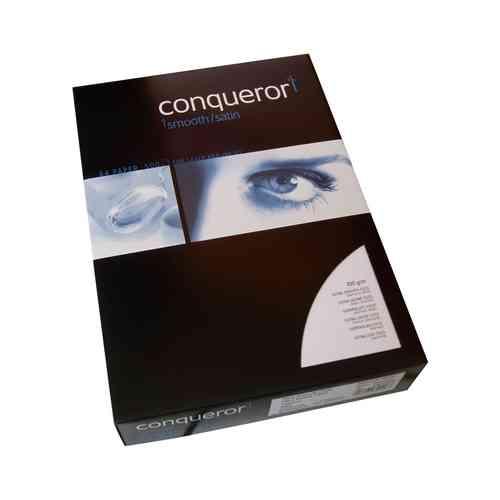 500 Blatt Conqueror CX22 Diamantweiss DIN A4 Papier 100g Wasserzeichen