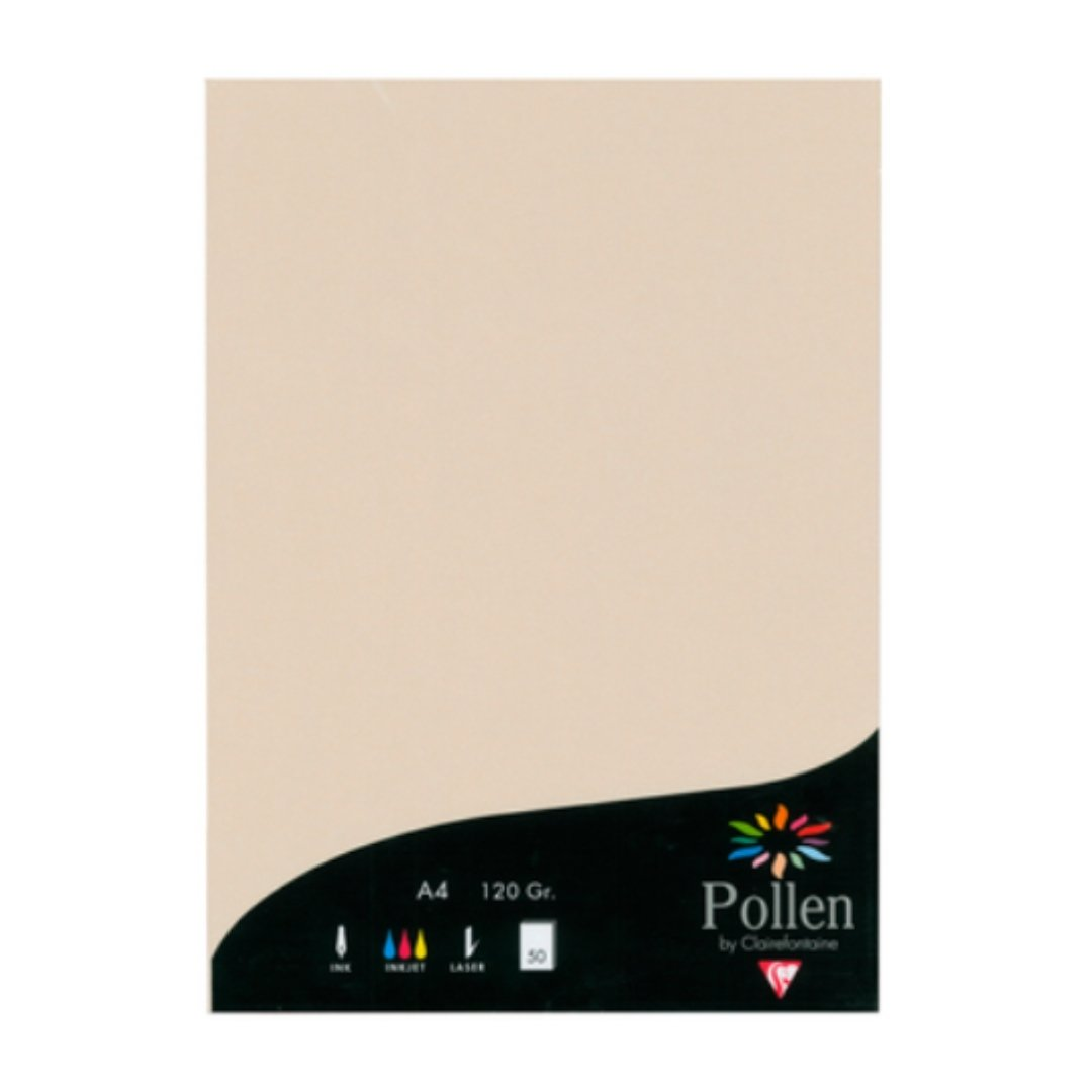 pollen by clairefontaine elfenbein sand papier 120g din a4 ivoire. Black Bedroom Furniture Sets. Home Design Ideas