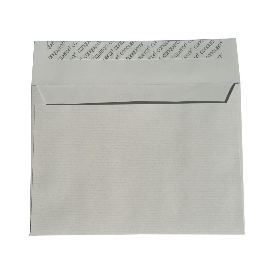 Conqueror Texture Gerippt Perlmutt Din C5 Briefumschlag 162x229mm