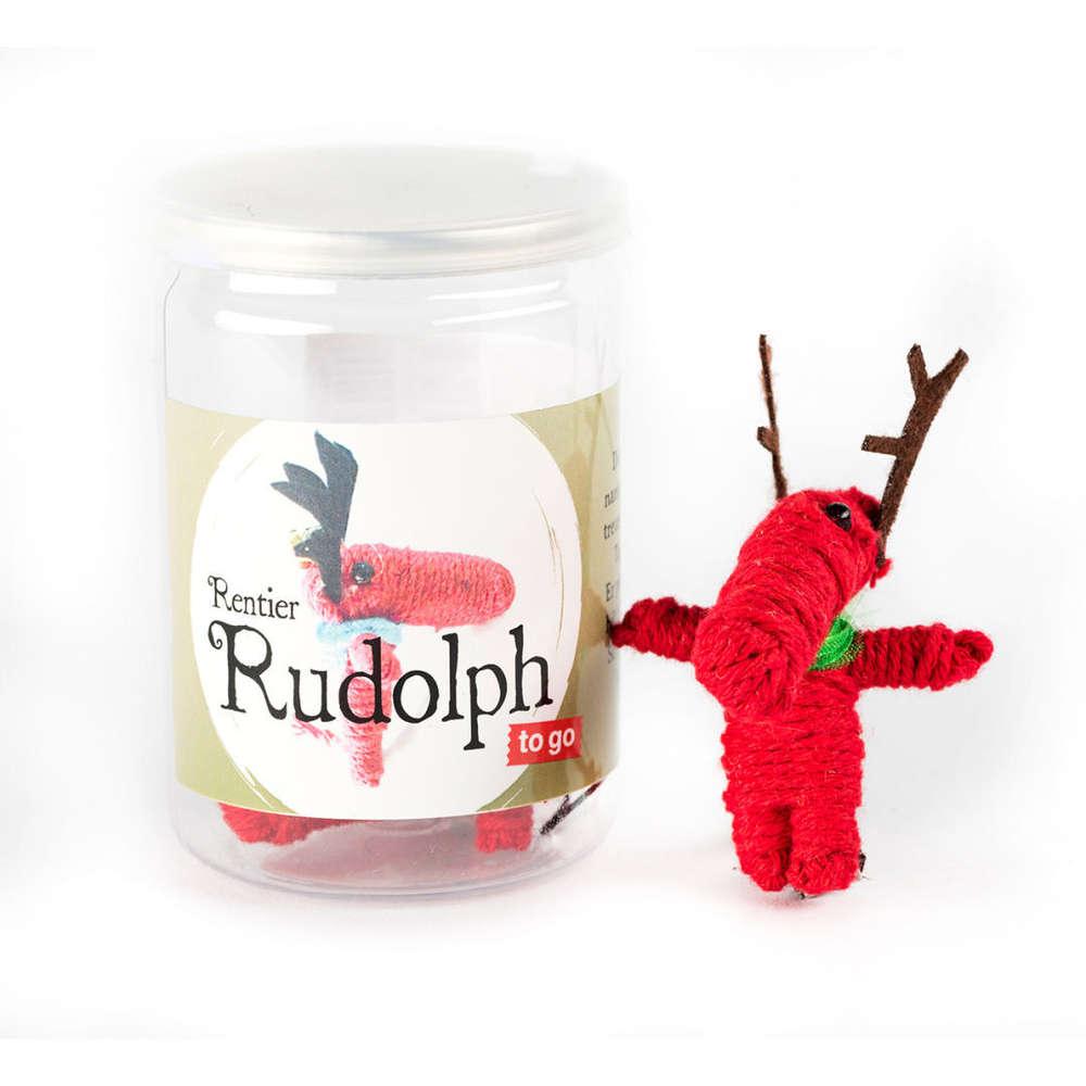 Rentier Rudolph Weihnachtsdoll To Go Weihnachten in der Dose